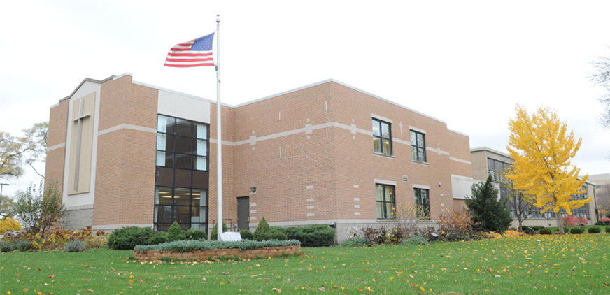 Walther Christian Academy School, Melrose Park // CLEF provided funds to update the fire alarm and security system