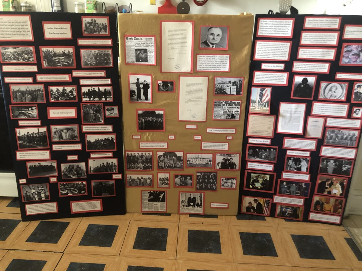History Fair Is a Lesson in Determination