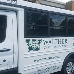 Three New Buses at Walther Christian Academy