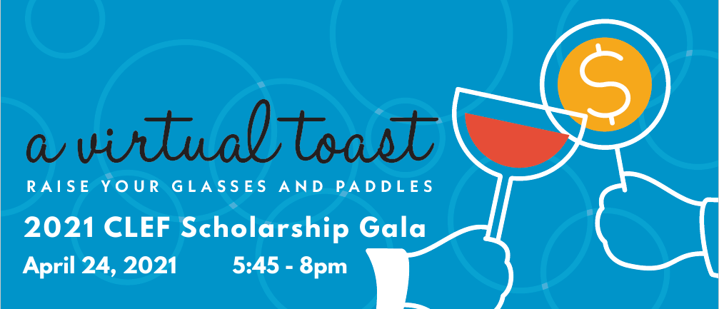 A Virtual Toast: 2021 Virtual Scholarship Gala